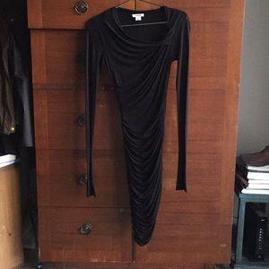 Gorgeous Draped Helmut Lang Dress sz. P